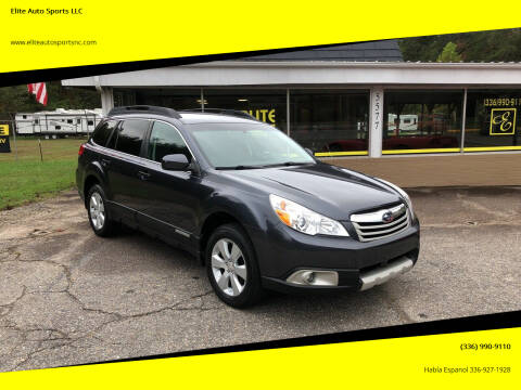2012 Subaru Outback for sale at Elite Auto Sports LLC in Wilkesboro NC