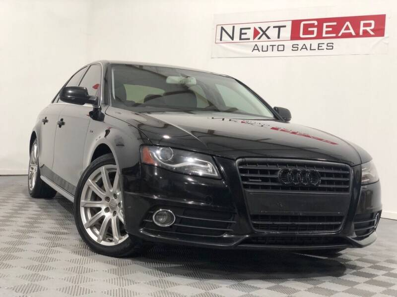 2012 Audi A4 for sale at Next Gear Auto Sales in Westfield IN