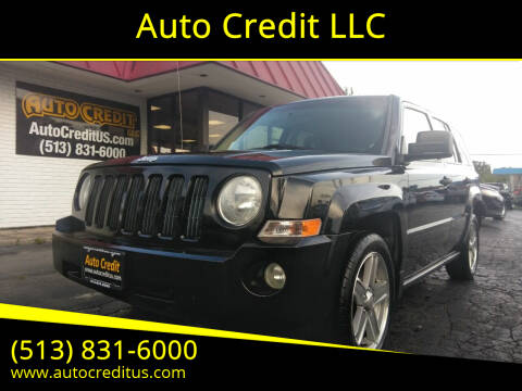 2007 Jeep Patriot for sale at Auto Credit LLC in Milford OH