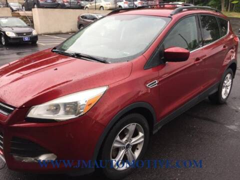 2013 Ford Escape for sale at J & M Automotive in Naugatuck CT
