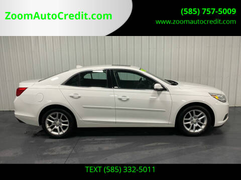 2013 Chevrolet Malibu for sale at ZoomAutoCredit.com in Elba NY