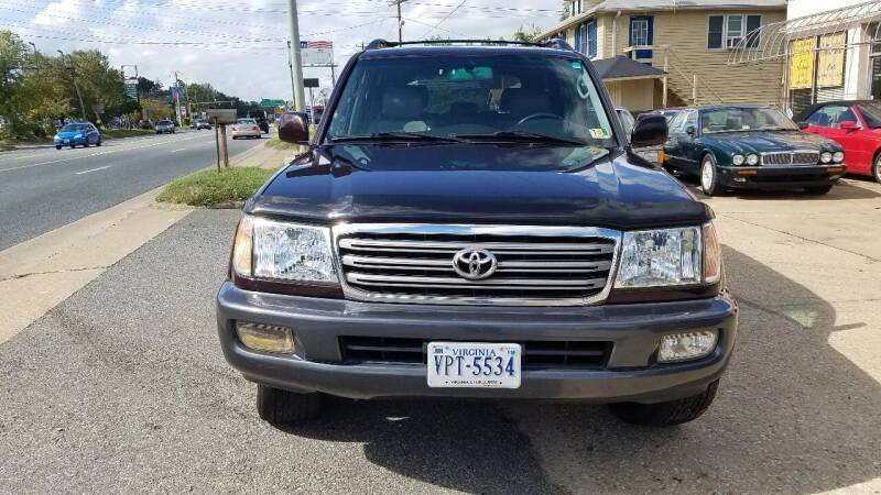 2004 Toyota Land Cruiser for sale at PRESTIGE MOTORS in Fredericksburg VA