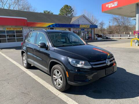2016 Volkswagen Tiguan for sale at Gia Auto Sales in East Wareham MA