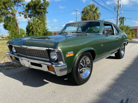 1972 Chevrolet Nova 350 Numbers Matching for sale at American Classics Autotrader LLC in Pompano Beach FL