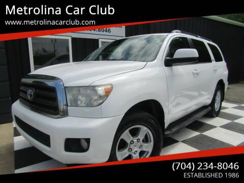 2013 Toyota Sequoia for sale at Metrolina Car Club in Matthews NC