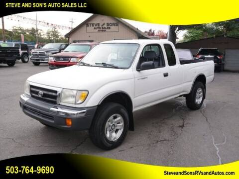 2000 Toyota Tacoma for sale at Steve & Sons Auto Sales in Happy Valley OR