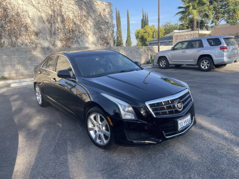 2014 Cadillac ATS for sale at AutoHaus in Colton CA