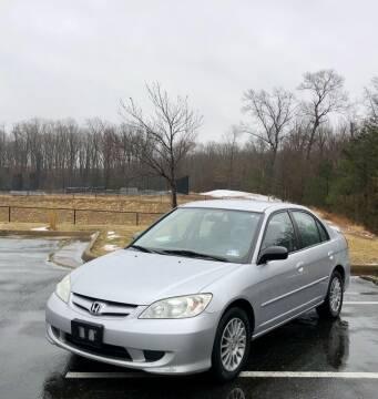 2005 Honda Civic for sale at ONE NATION AUTO SALE LLC in Fredericksburg VA