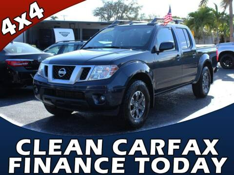 2016 Nissan Frontier for sale at Palm Beach Auto Wholesale in Lake Park FL