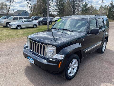 2010 Jeep Liberty for sale at WB Auto Sales LLC in Barnum MN