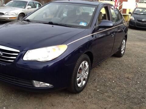 2010 Hyundai Elantra for sale at Lance Motors in Monroe Township NJ