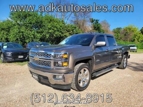 2015 Chevrolet Silverado 1500 for sale at ADK AUTO SALES LLC in Austin TX