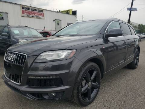 2013 Audi Q7 for sale at MENNE AUTO SALES in Hasbrouck Heights NJ