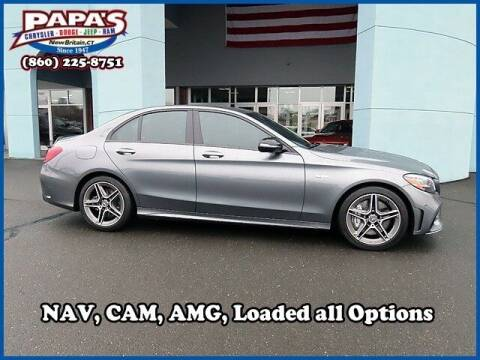 2019 Mercedes-Benz C-Class for sale at Papas Chrysler Dodge Jeep Ram in New Britain CT