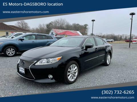 2014 Lexus ES 300h for sale at ES Motors-DAGSBORO location in Dagsboro DE