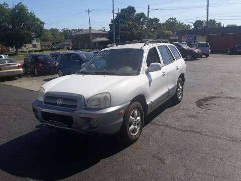 2005 Hyundai Santa Fe for sale at Flag Motors in Columbus OH