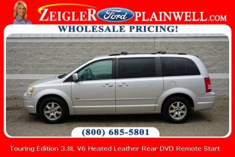 2008 Chrysler Town and Country for sale at Zeigler Ford of Plainwell- Jeff Bishop in Plainwell MI