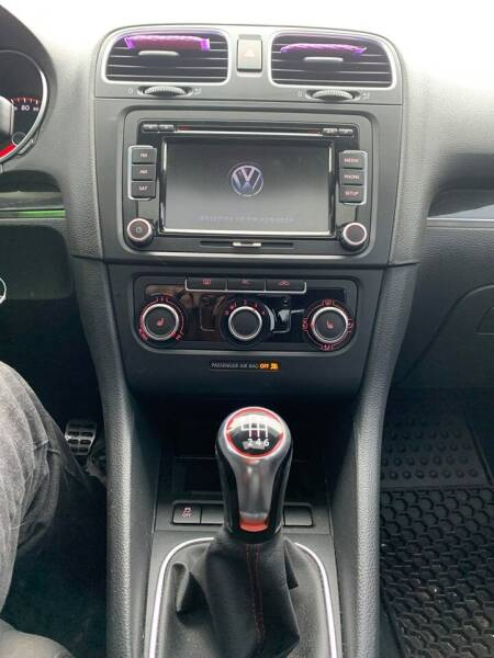 2012 Volkswagen GTI PZEV 2dr Hatchback 6M w/ Convenience and Sunroof - Arundel ME