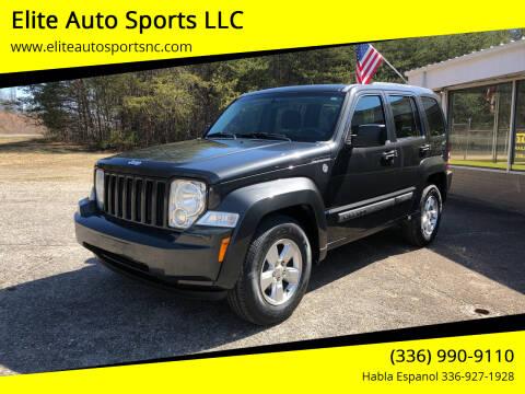 2011 Jeep Liberty for sale at Elite Auto Sports LLC in Wilkesboro NC