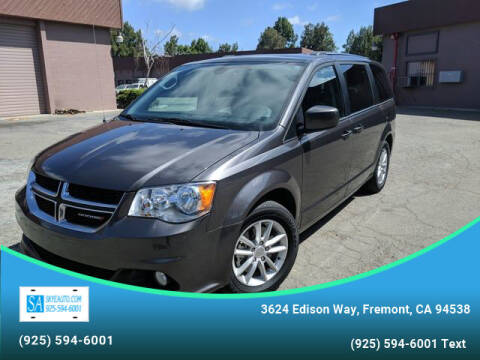 2019 Dodge Grand Caravan for sale at Skye Auto in Fremont CA