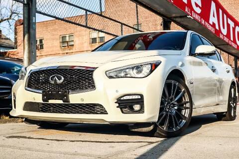 2017 Infiniti Q50 for sale at HILLSIDE AUTO MALL INC in Jamaica NY