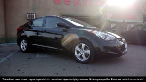2013 Hyundai Elantra for sale at Westland Auto Sales in Fresno CA