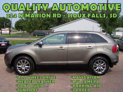 2012 Ford Edge for sale at Quality Automotive in Sioux Falls SD