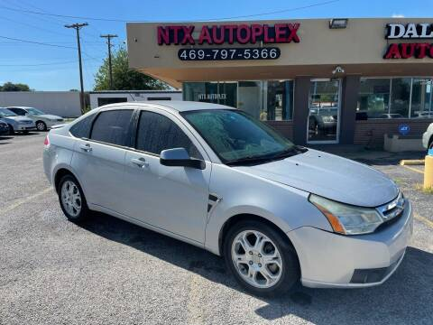 2008 Ford Focus for sale at NTX Autoplex in Garland TX