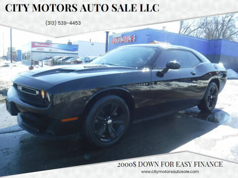 2017 Dodge Challenger for sale at City Motors Auto Sale LLC in Redford MI