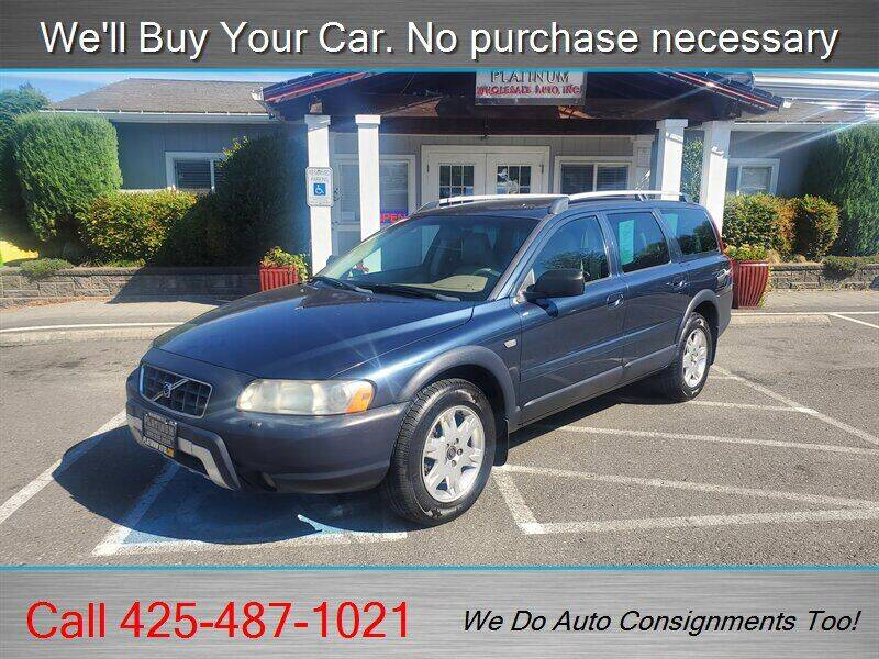 2006 Volvo XC70 for sale at Platinum Autos in Woodinville WA