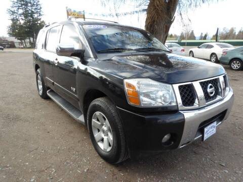 2006 Nissan Armada for sale at VALLEY MOTORS in Kalispell MT