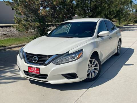 2016 Nissan Altima for sale at A & R Auto Sale in Sterling Heights MI