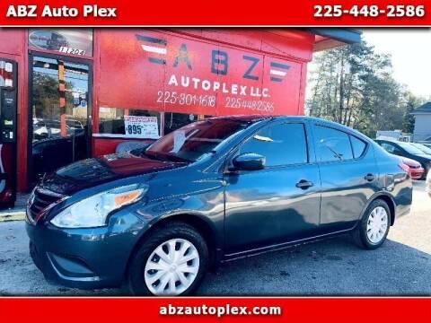 2016 Nissan Versa for sale at ABZ Autoplex, LLC in Baton Rouge LA