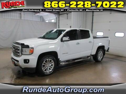 2015 GMC Canyon for sale at Runde PreDriven in Hazel Green WI