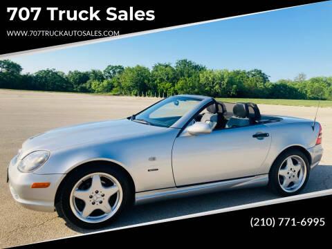 1999 Mercedes-Benz SLK for sale at 707 Truck Sales in San Antonio TX