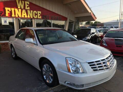 2011 Cadillac DTS for sale at Caspian Auto Sales in Oklahoma City OK