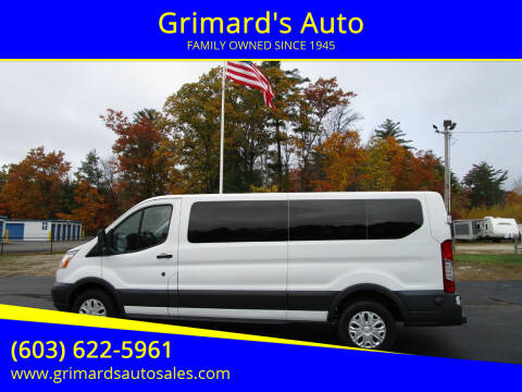 2018 Ford Transit Passenger for sale at Grimard's Auto in Hooksett, NH