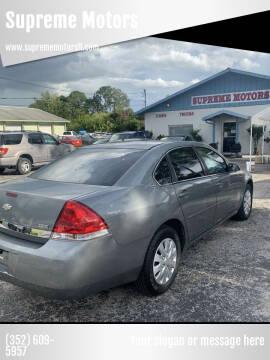2007 Chevrolet Impala for sale at Supreme Motors in Tavares FL