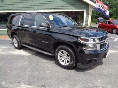2015 Chevrolet Suburban for sale at SCHURMAN MOTOR COMPANY in Lancaster NH