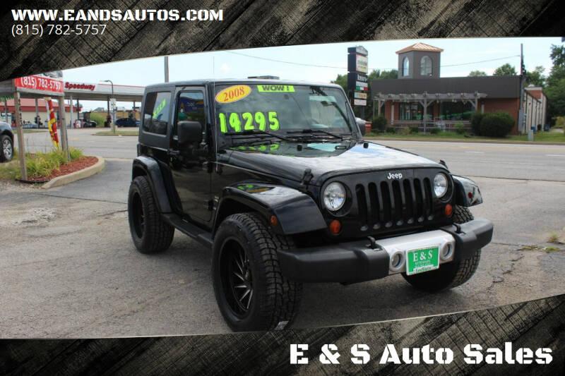 2008 Jeep Wrangler for sale at E & S Auto Sales in Crest Hill IL