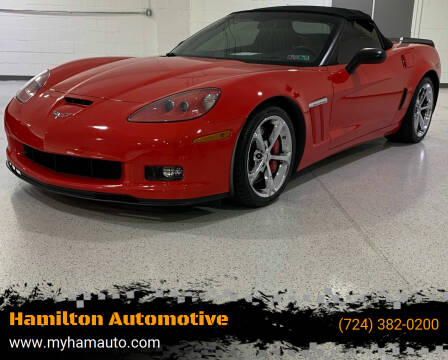 2012 Chevrolet Corvette for sale at Hamilton Automotive in North Huntingdon PA