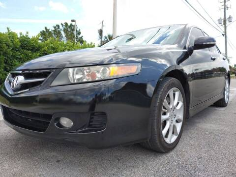 2007 Acura TSX for sale at Easy Finance Motors in West Park FL