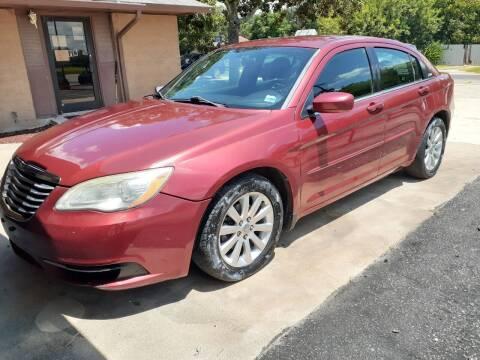 2011 Chrysler 200 for sale at John 3:16 Motors in San Antonio TX