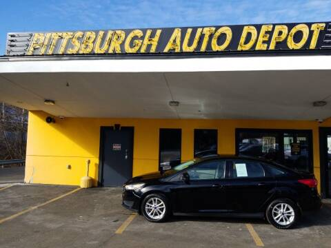 2018 Ford Focus for sale at Pittsburgh Auto Depot in Pittsburgh PA