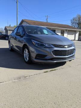 2018 Chevrolet Cruze for sale at Hudson Motor Sales in Alpena MI