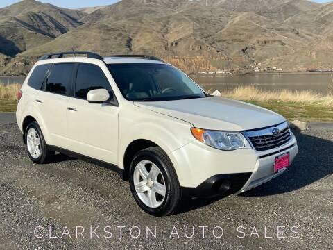 2010 Subaru Forester for sale at Clarkston Auto Sales in Clarkston WA