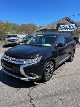 2016 Mitsubishi Outlander for sale at Frontline Motors Inc in Chicopee MA