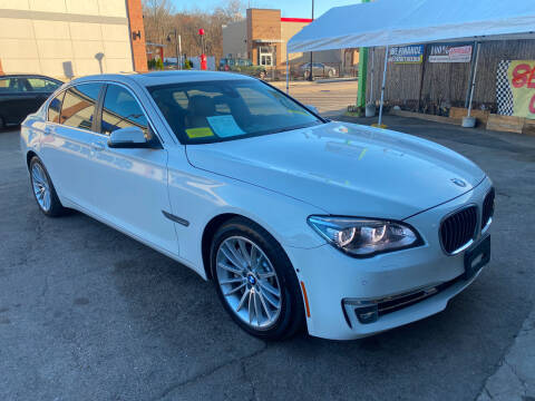 2013 BMW 7 Series for sale at Polonia Auto Sales and Service in Hyde Park MA