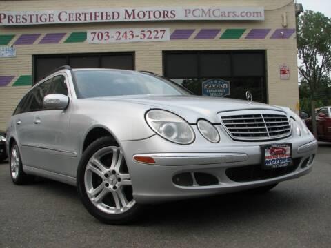2006 Mercedes-Benz E-Class for sale at Prestige Certified Motors in Falls Church VA