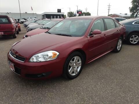 2011 Chevrolet Impala for sale at L & J Motors in Mandan ND